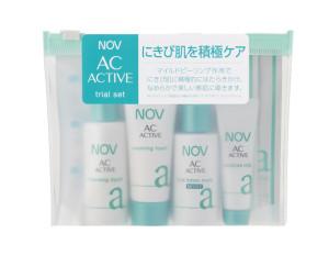 敏感肌用にきびケア化粧品ノブACアクティブ-トライアルセット-画像
