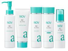 敏感肌用にきびケア化粧品ノブACアクティブ-画像