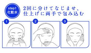 敏感肌用ブランド-ディセンシア-サエル化粧水の使い方-イメージ
