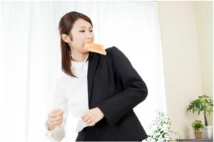 働く女性の朝-イメージ